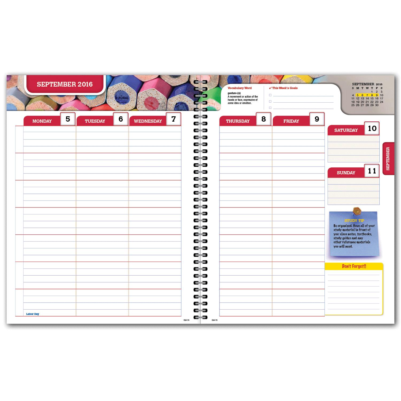 elan publishing  secondary matrix 7x9 student planner