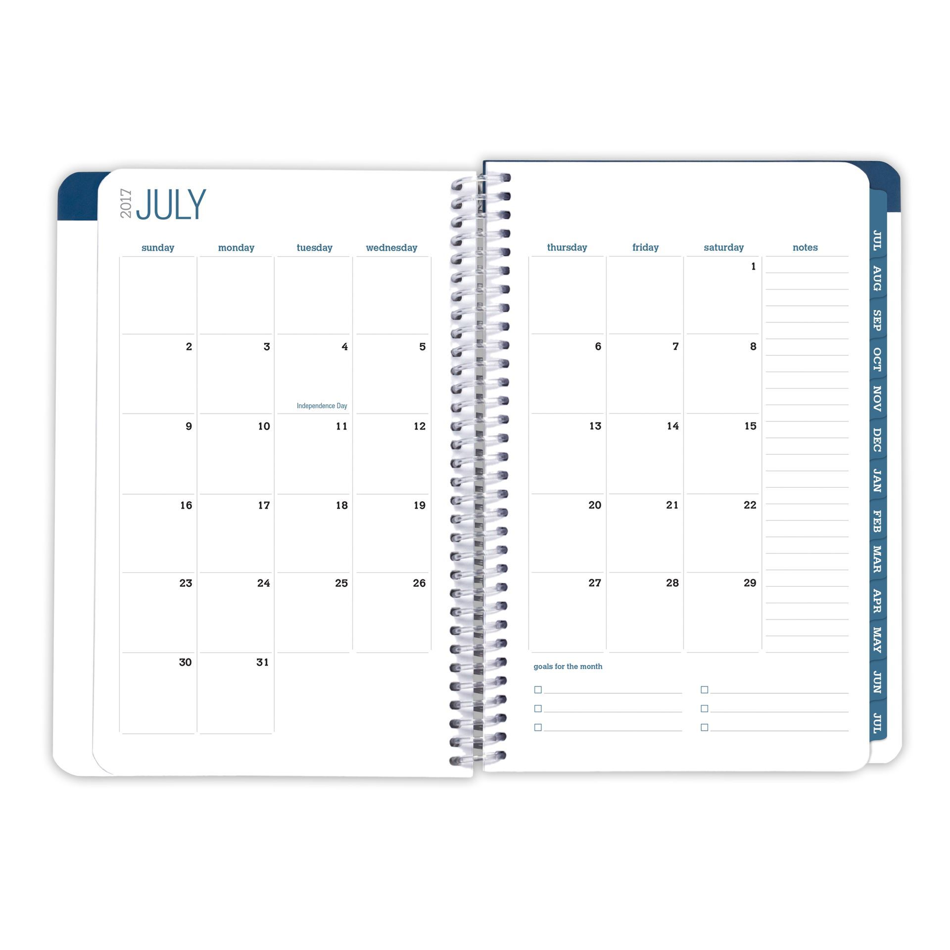 Picture of Academic Year Fashion Planner Daily Set (Gold Anchors)