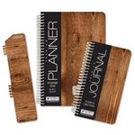 Picture of Academic Year Fashion Planner Daily Set (Medium Woodgrain Pattern)