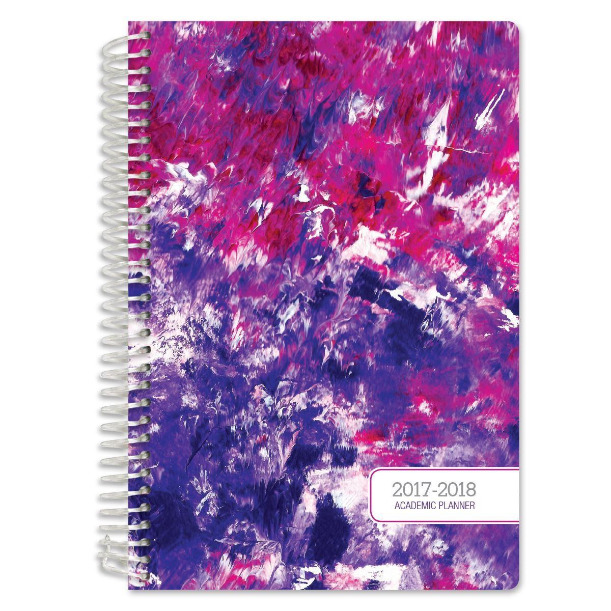 Picture of Academic Year Fashion Planner Daily Set (Purple Art Set Pattern)