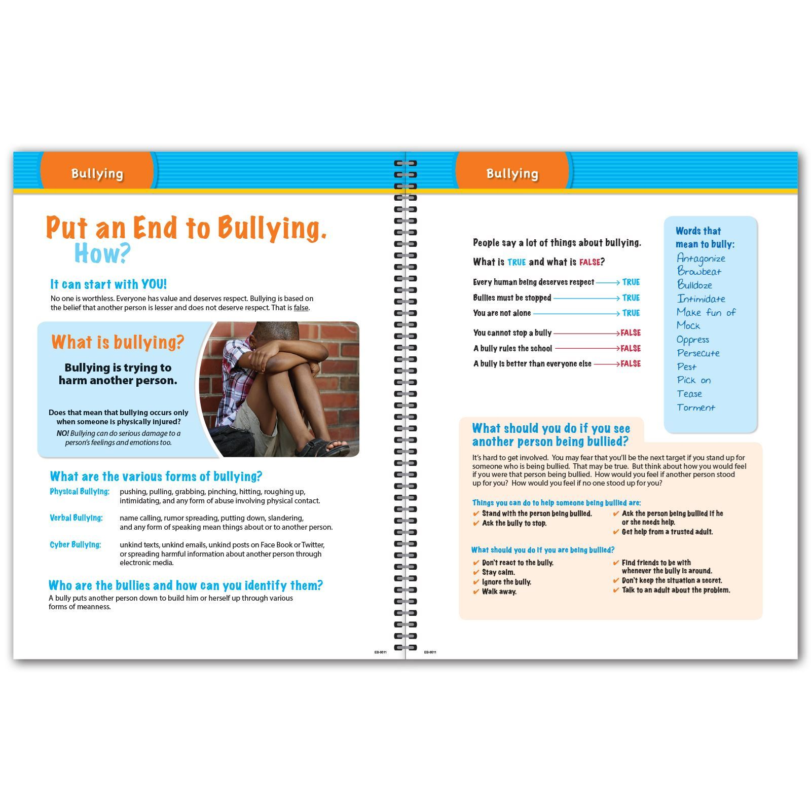 Picture of Elementary Block 8.5x11 Student Planner (Cover 3)