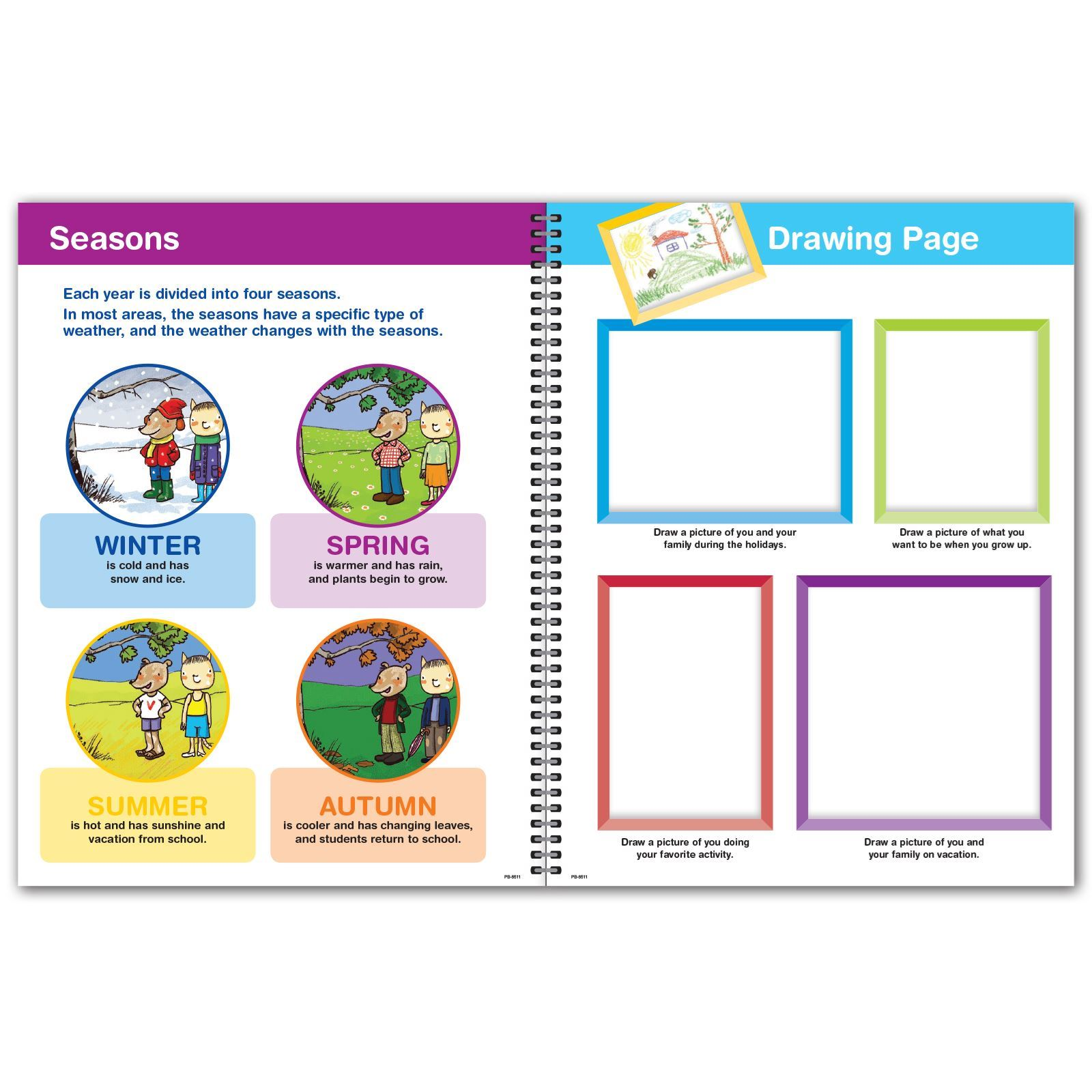 Picture of Primary Block 8.5x11 Student Planner (Cover 1 )