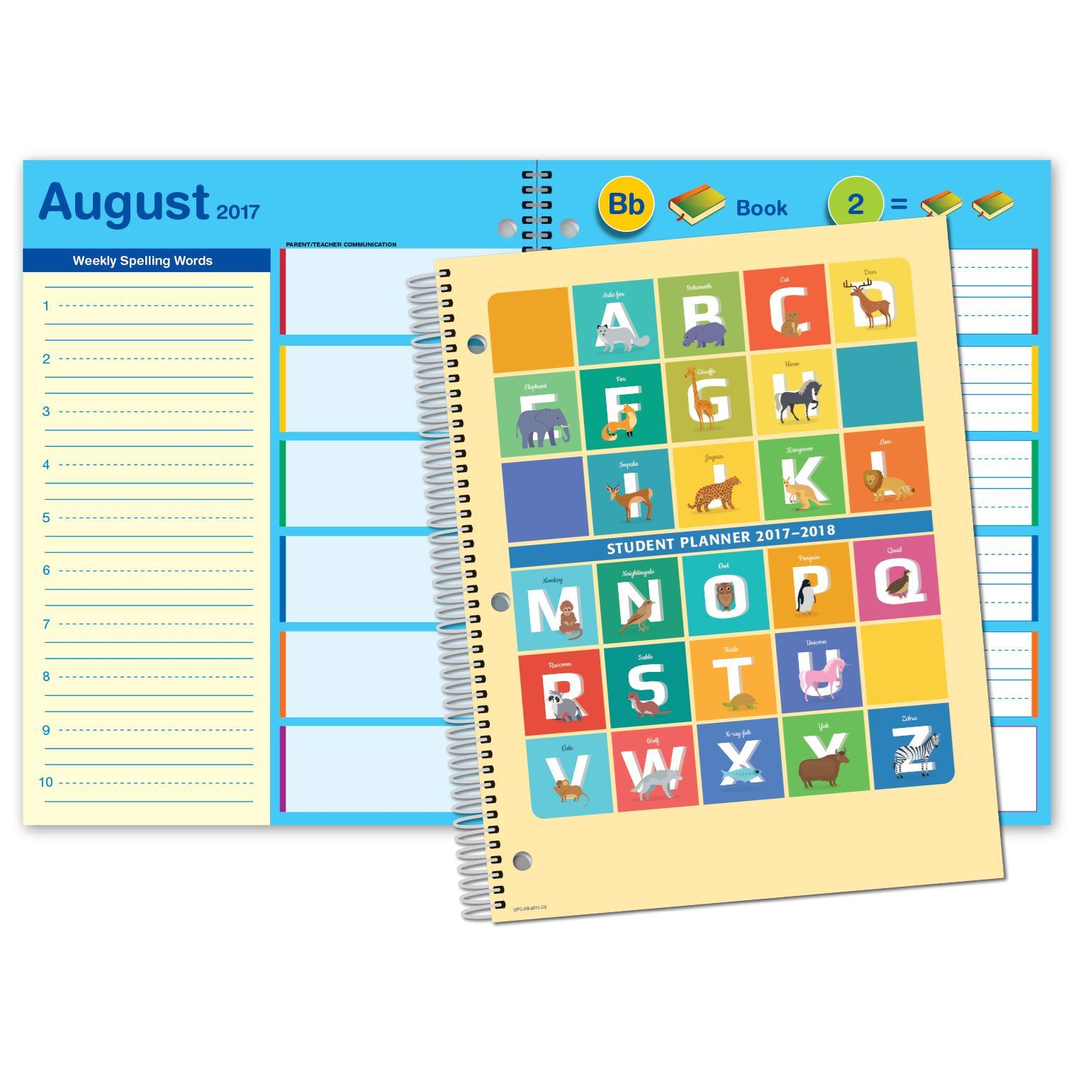 Picture of Primary Block 8.5x11 Student Planner (Cover 3 )