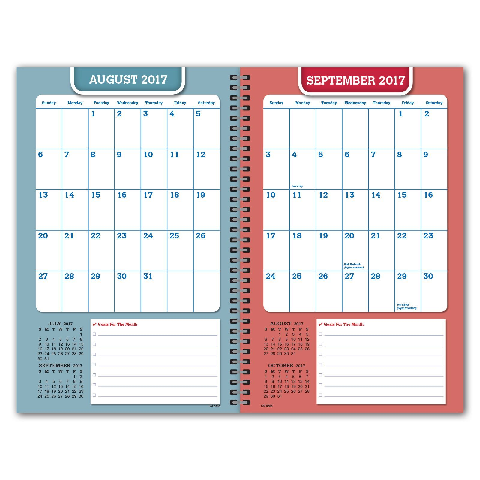 Picture of Secondary Matrix 5.5x8.5  Student Planner (Cover 3)