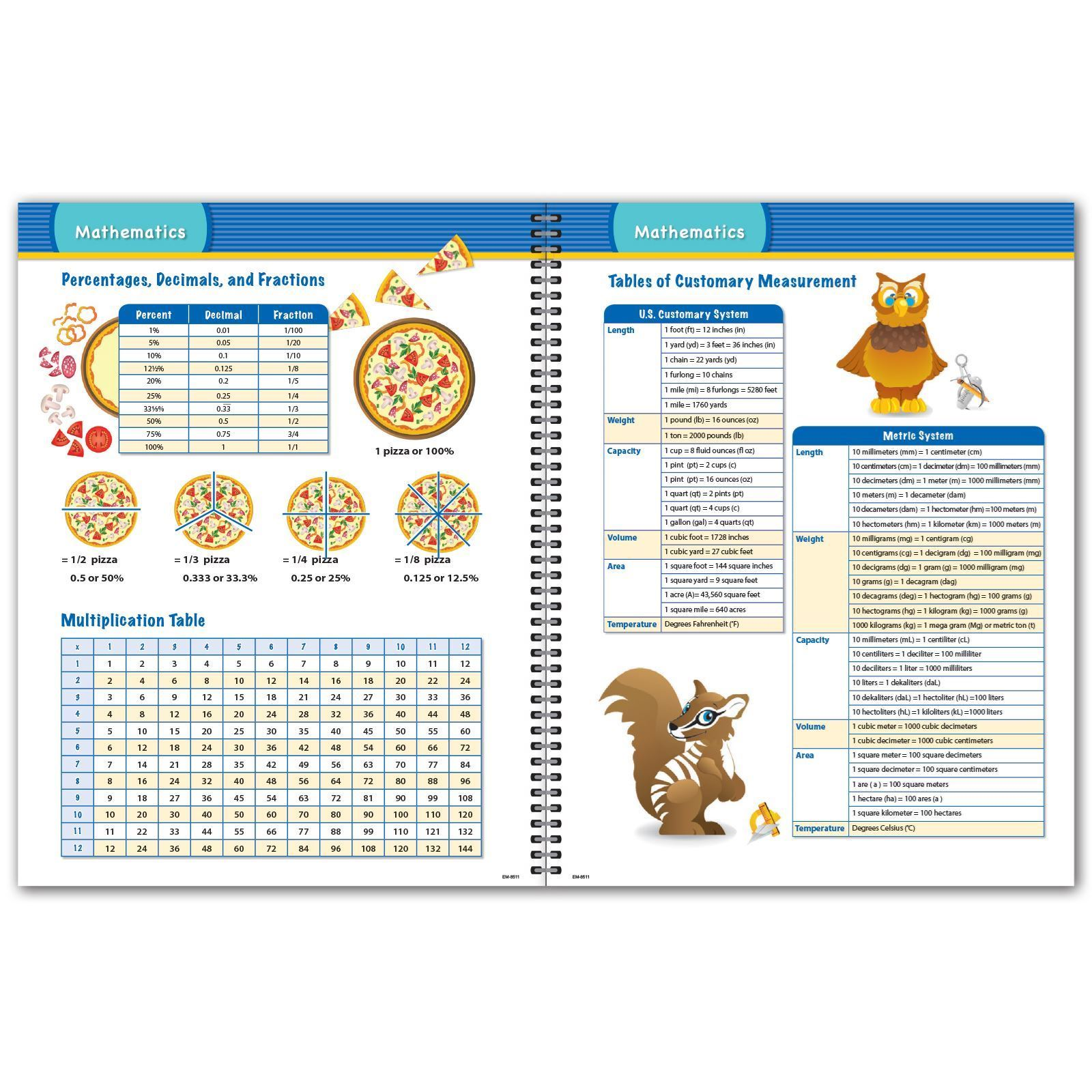Picture of Elementary Matrix 8.5x11 Student Planner (Cover 2)