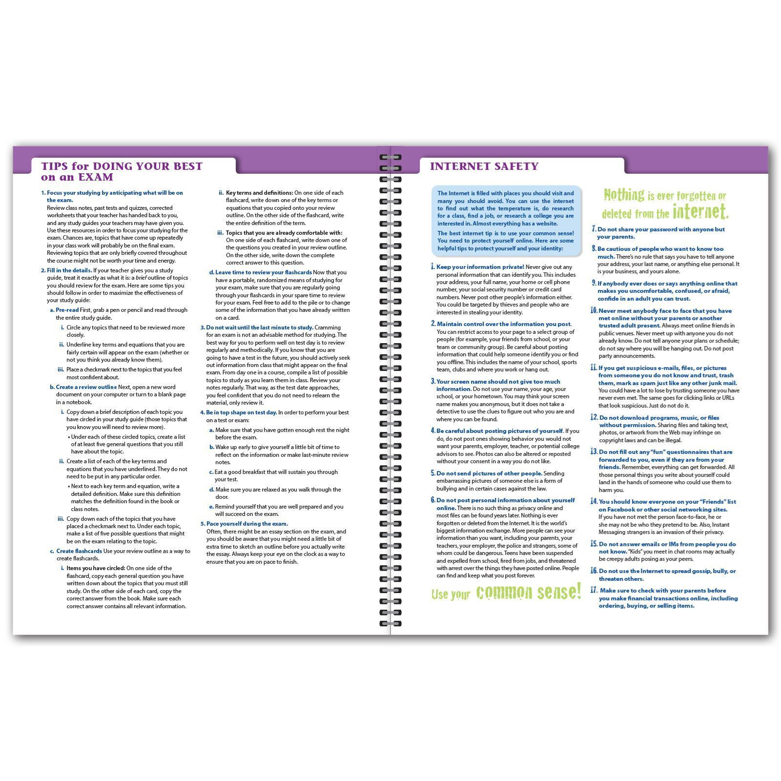 Picture of Secondary Matrix 8.5x11 Student Planner (Cover 2)