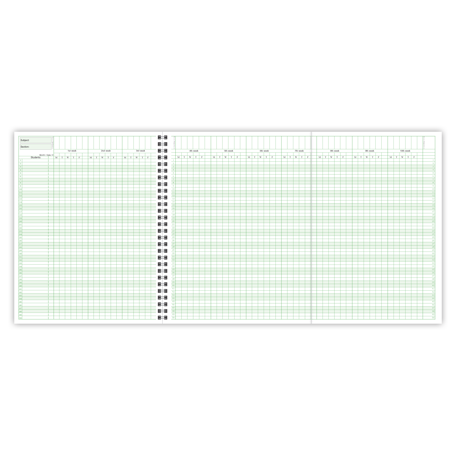 Picture of Combination Plan/Record Book (WC-8)
