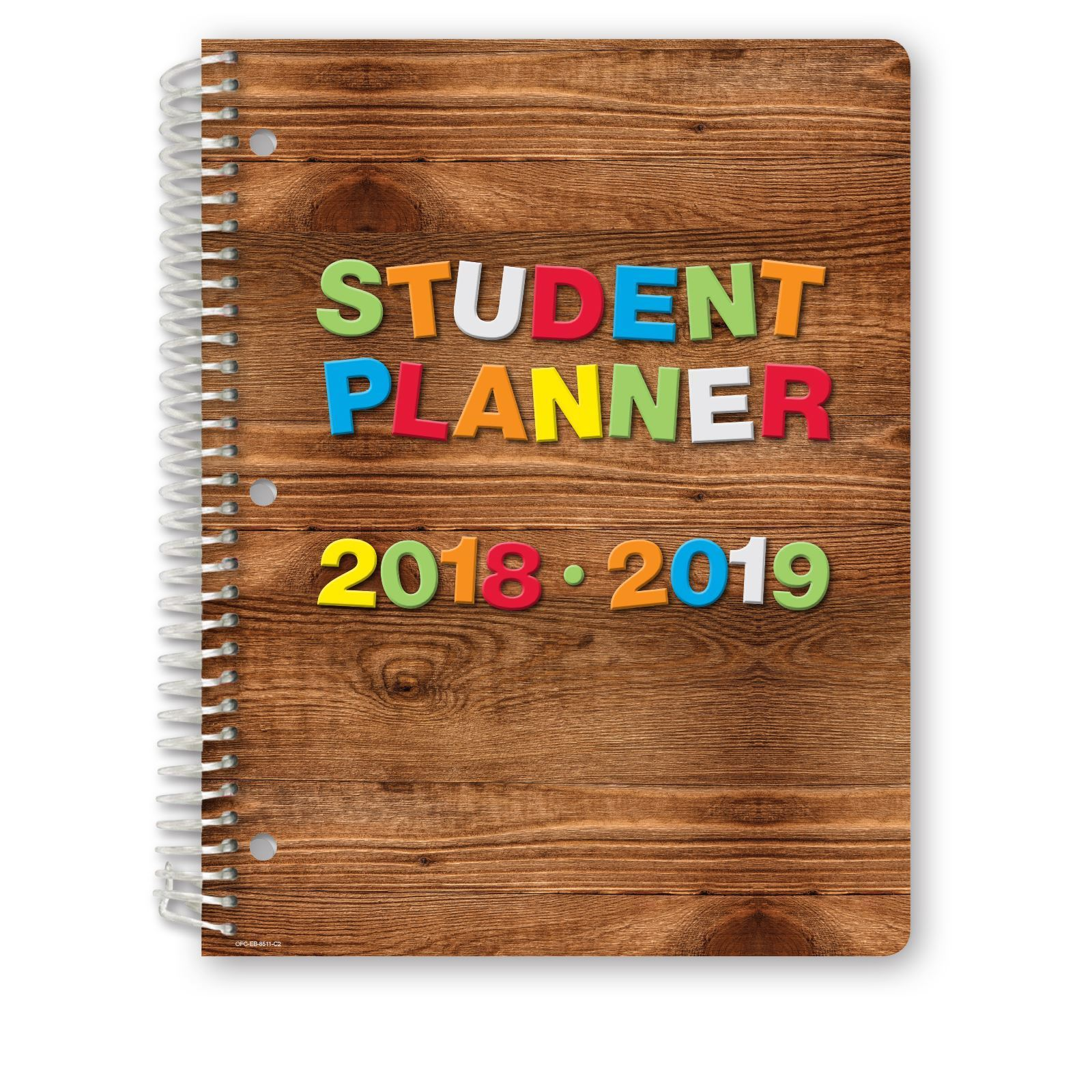Picture of Dated Elementary Student Planner for Academic Year 2018-2019