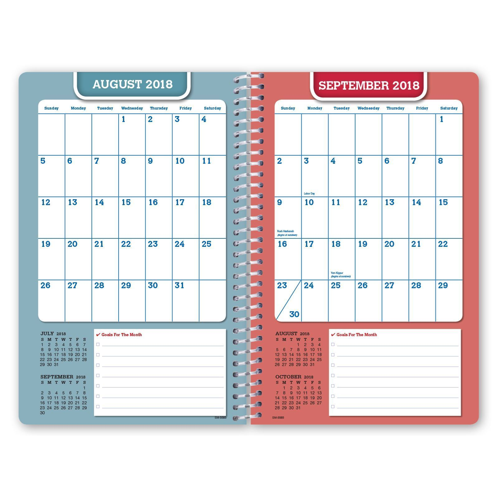 Picture of Dated Middle School or High School Student Planner for Academic Year 2018-2019