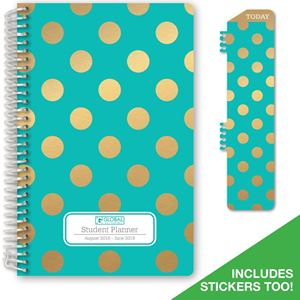 Picture of HARDCOVER Dated Middle School or High School Student Planner for Academic Year 2018-2019