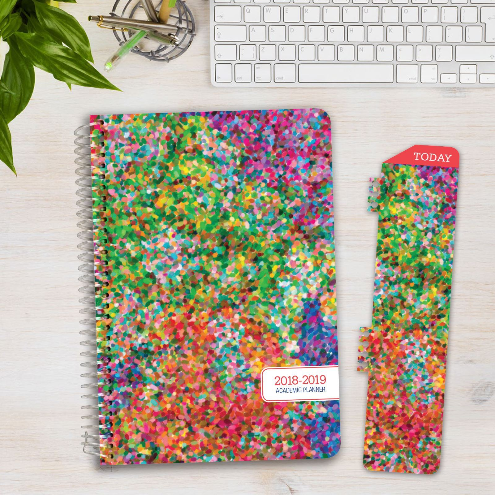 Picture of HARDCOVER Academic Year Planner 2018-2019 (Colorful)