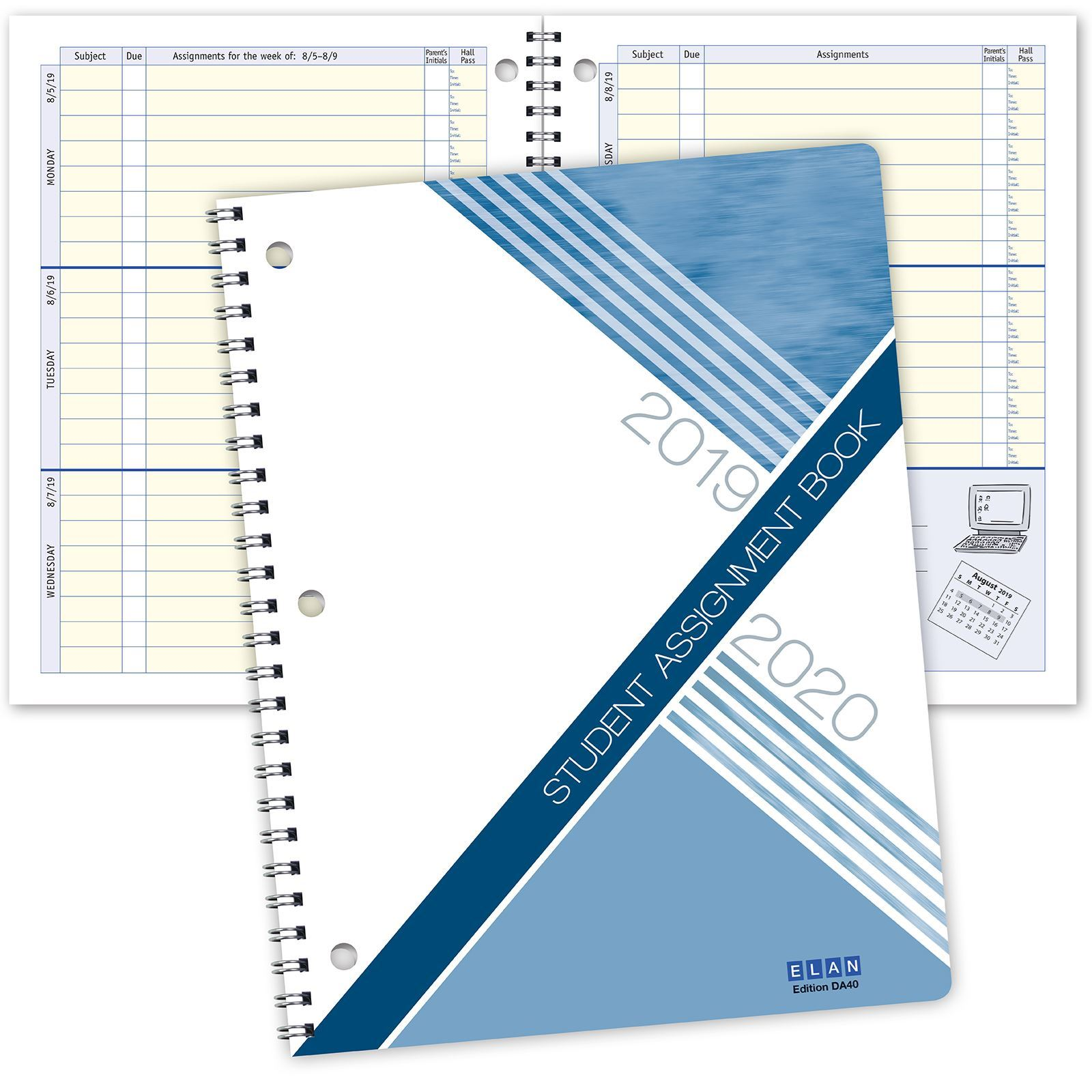 Picture of DA40 Dated Student Planner