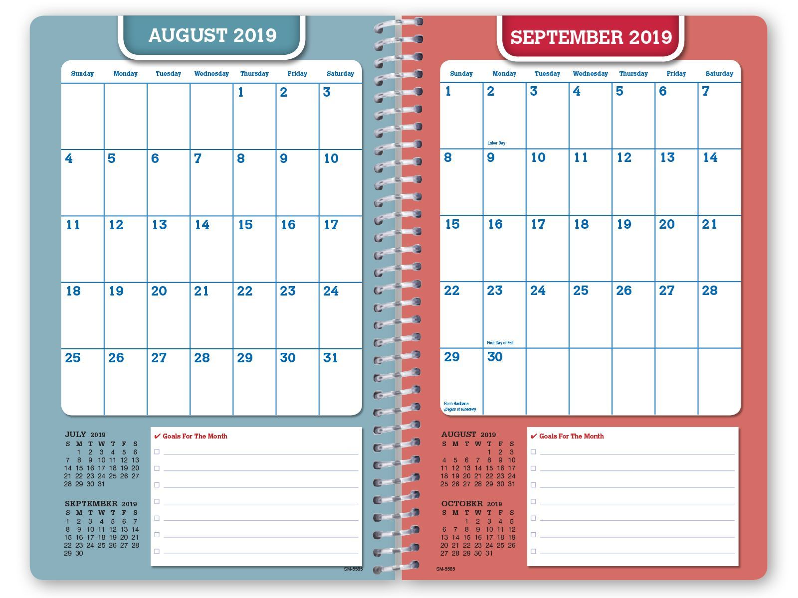 Picture of Dated Middle School or High School Student Planner for Academic Year 2019-2020