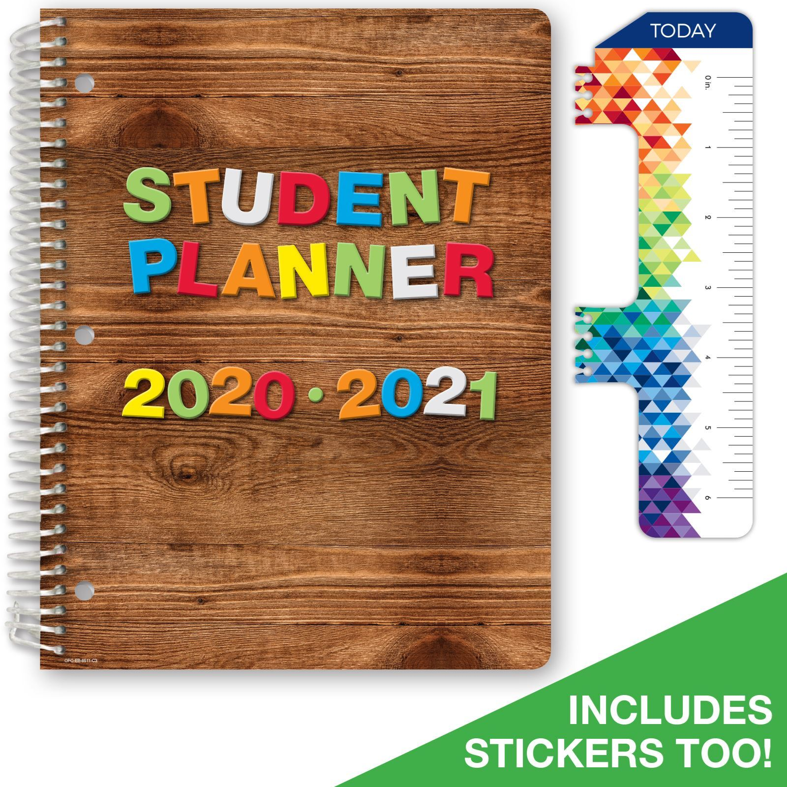 Picture of Dated Elementary Block Student Planner for Academic Year 2020-2021