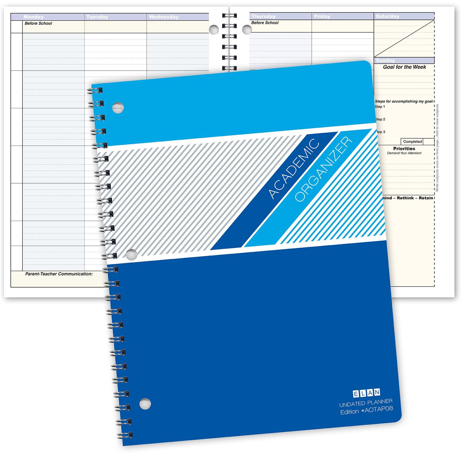Picture of AOTAP Undated Student Planner